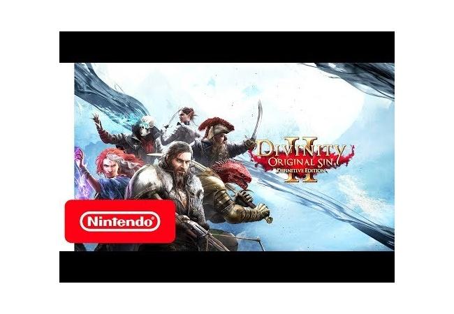 Switch版『ディヴィニティ:オリジナル・シン 2』の国内発売が10/31に決定!Steamとクロスセーブ対応!