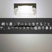 眠りで現実と向き合う。『眠り展:アートと生きること ゴヤ、ルーベンスから塩田千春まで』