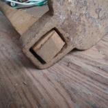 『唐鍬(筍鍬)を修理する その3 ―柄の交換と刃の砥ぎ―』の画像