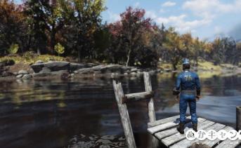 Fallout 76:水辺で聞こえる「ベンッ」という音について