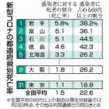 『大阪のコロナの死者が東京を上回るのはなぜ(マグネシウムで考える)』の画像