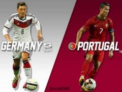 【速報】ドイツ・ミュラーがハットトリック!ポルトガルはぺぺが一発レッド、C・ロナウド不発で撃沈!(動画あり)