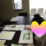 『アートセラピー日記(パステル教室コース)』の画像