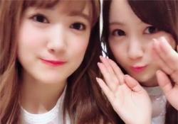 みなみちゃんはいつも可愛くて偉いね〜w 星野みなみ×樋口日奈の「755」仲良し神動画公開!!