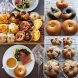 『中級ベーグル、くるみパン、シナモンロール 上級 山食、カレーパン』の画像