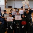 『豊功神社奉納剣道大会。』の画像