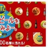 『【キャンペーン】「リッツを買って世界のビールを、当ててみよー。」』の画像