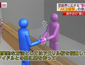 【訃報】AKB握手会にアクリル板設置