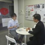 『中日新聞織田記者の取材を受けました!』の画像