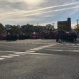 『明日、午前9時半より戸田市役所駐車場で消防出初式が行われます』の画像
