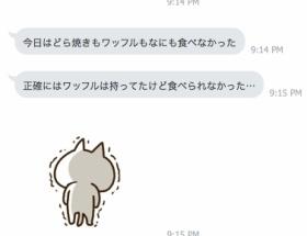 北川景子のLINEのスクショできたで