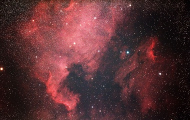 『北アメリカ星雲&ペリカン星雲コラボ』の画像