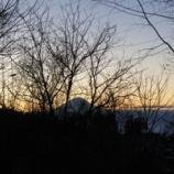 『朝焼けの富士』の画像