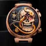 『【爆売れ必至!!】ガイコツをモチーフにした腕時計が世界的ハイブランドのルイ・ヴィトン様から発売!お値段なんと5,500万円…』の画像