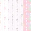 ハート縦ラインのシームレスパターン素材 3種