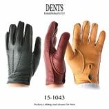 『入荷   DENTS (デンツ) 15-1043 ペッカリー アンライニング』の画像