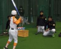 阪神・陽川、ロングティーで場外弾!フリー10発含む43発 75試合 .252 6本 48打点 5盗塁
