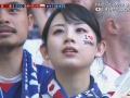 FIFA公式映像がちょくちょく映してた日本人美女wwwww(画像あり)