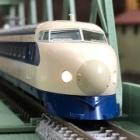 『TOMIX 0系 東海道・山陽新幹線(大窓初期型)入線』の画像