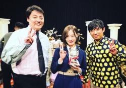 【乃木坂46】まるで兄妹?! 中田花奈、酒井健太とVサインwww