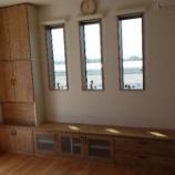 『観音寺市にすえ木工の壁面収納・MIEL-3を納品』の画像