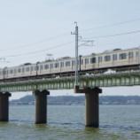 『北浦橋梁を渡る209系』の画像