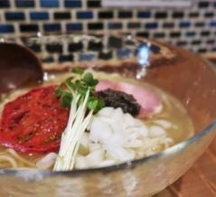 自家製麺 ニューカッパ@羽村市<限定・冷やしらーめんトマトリュフ>