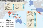 """""""国論を二分"""" TPP、反対論拡大…JAが先導、労組・日医も共闘"""