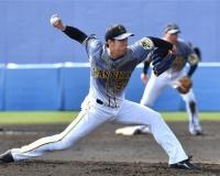 【阪神】青柳、ええやん新球カット!西勇に続くローテの柱へ上々3回0封