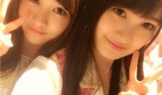 HKT48神志那結衣が乃木坂46星野みなみとの2ショット写真公開