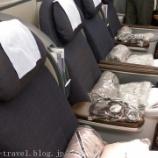『シカゴ旅行記2 ユナイテッド航空のビジネスクラスでシカゴへ移動』の画像