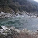 『【あめご釣り行っちょった4回目】前回に続き吉野川に行てみた結果』の画像