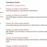 『【KHC】クラフト・ハインツからの「便り」が3週間近くない』の画像