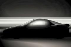 ヤマハ、スポーツカーコンセプトのシルエットを公開!