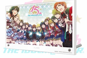 【アイマス】「アイドルマスター」シリーズ15周年記念キービジュアルグッズ第2弾の受注販売開始!7月5日まで!