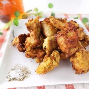 下味の食材がポイント♪鶏むね肉のフライドチキン