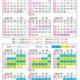 21年上期カレンダー