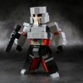 レゴで変形可能メガトロン完成しました!