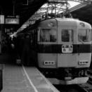 近鉄特急と字幕式発車案内 (1979年)