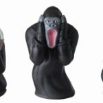 「ムンクの叫び」が動物版フィギュアになってガチャに登場!「どうぶつのさけび」