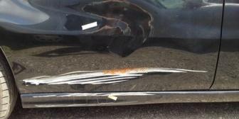 遊びに来たママ友の自転車が倒れてうちの車に傷がついた。謝ってはくれたけど…