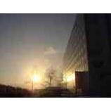 『朝日をあびた雫石プリンスホテル』の画像
