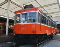 """『その後の箱根登山鉄道 モハ1形 107は""""かまぼこの里""""へ』の画像"""