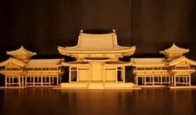 【創作】  日本人が ダンボール箱で作った 平等院鳳凰堂が 凄すぎる件。   【海外の反応】