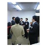 『今日はビジネスバンクの講習会』の画像