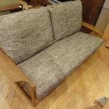 『【北欧テイスト・日進木工の家具2012】geppoシリーズのシードソファ・NFC-782-S・ニューマゴンザ I』の画像