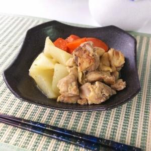甘めで優しいお味♪鶏肉と根菜の味噌煮込み