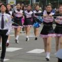 2014年横浜開港記念みなと祭国際仮装行列第62回ザよこはまパレード その94(横浜市立みなと総合高等学校吹奏楽部・チアダンス部)の1