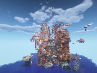 【ワールド配布】Minecraft違法建築イベント