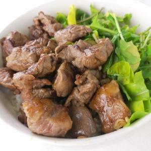 カレー用の牛肉で作れる!牛ステーキ丼